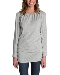 Udderly Hot Mama Luxe Long Sleeve Nursing Tee