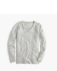 Vintage cotton long sleeve t shirt in metallic medium 522112