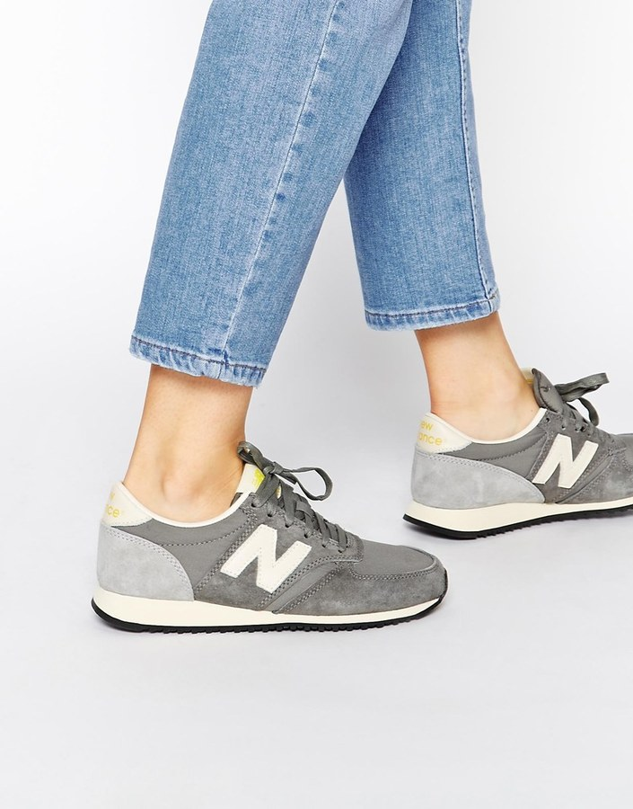 New Balance 420 Gray Vintage Sneakers
