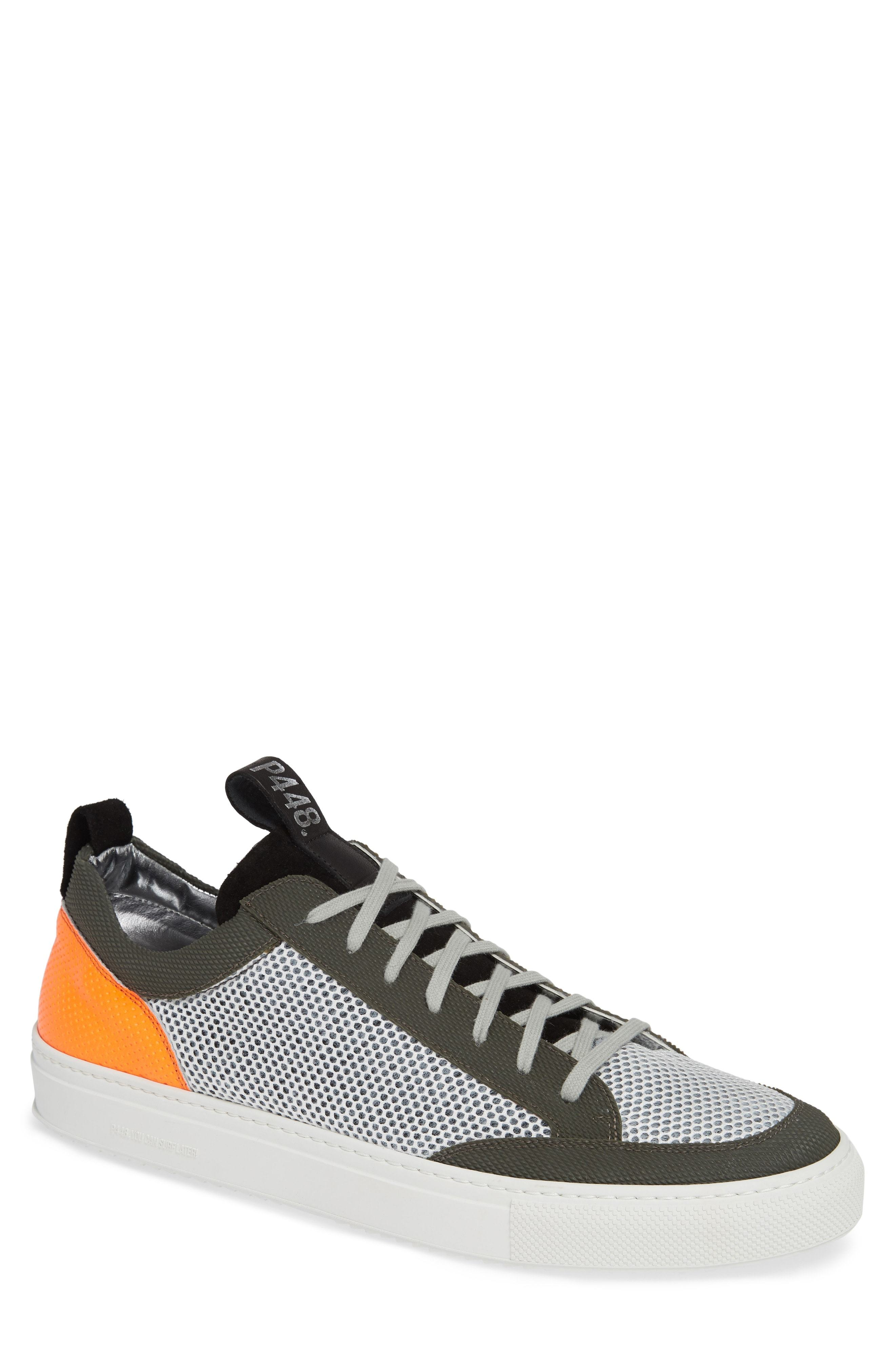 e4f88867529 ... Low Top Sneakers P448 A8soho Textured Sneaker