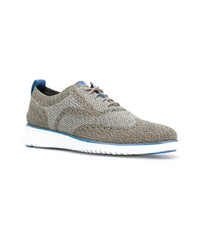 Cole Haan Brogue Detail Lace Up Shoes