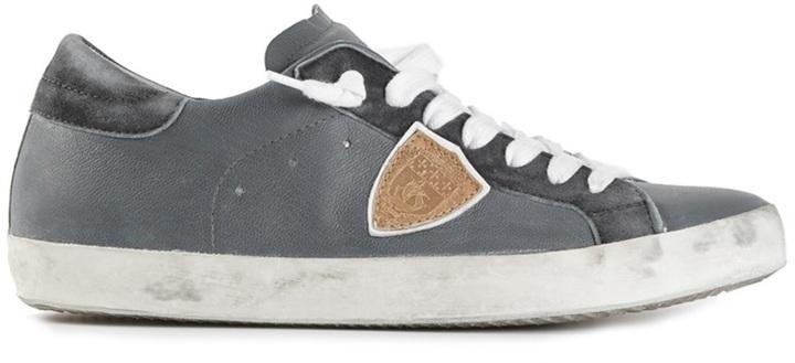 Philippe Model Distressed Low Top Sneaker