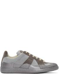 Maison Margiela Grey Replica Submerge Sneakers