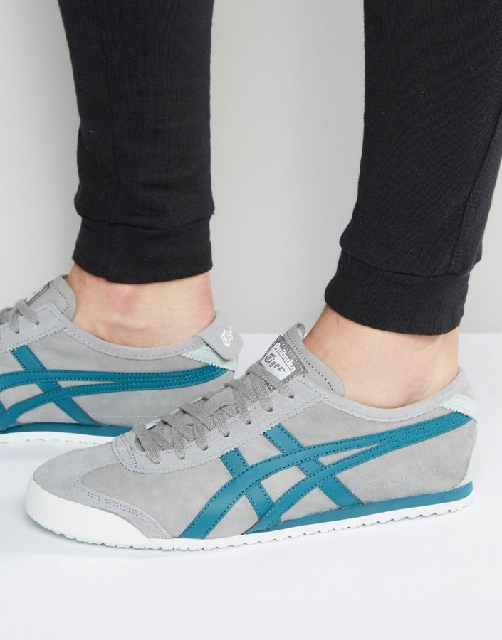on sale 35fdd a9e24 $125, Onitsuka Tiger by Asics Onitsuka Tiger Mexico 66 Sneakers