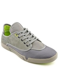 Steve Madden Dyle Grey Regular Suede Sneakers