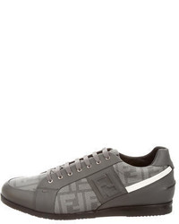 Fendi Zucca Low Top Sneakers