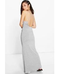 ad84d8dfc3e3 Women's Grey Maxi Dresses by Boohoo | Women's Fashion | Lookastic.com