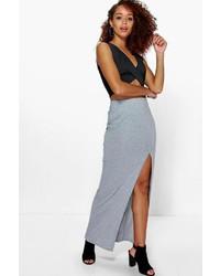 1f8dfe1a9f Women's Grey Maxi Skirts by Boohoo | Women's Fashion | Lookastic.com