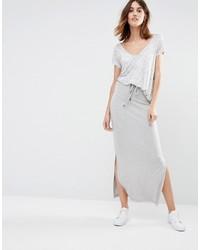 Vila Marl Jersey Maxi Skirt