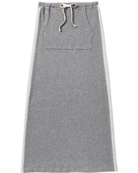 Joe Fresh Sporty Maxi Skirt Dark Grey Mix
