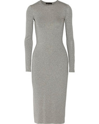 Grey midi dress original 9935224