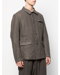Individual Sentiments Military Style Woven Jacket