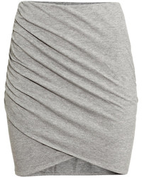 Grey mini skirt original 1463019