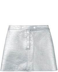 Courreges Courrges Metallic Mini Skirt
