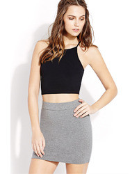 Women's Grey Mini Skirts from Forever 21 | Women's Fashion