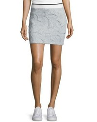Rag & Bone Jean Leaf Quilted Miniskirt