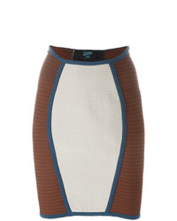 Jean Paul Gaultier Vintage Panelled Fitted Skirt