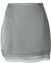 Romeo Gigli Vintage Layered Mini Skirt
