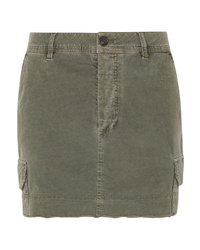James Perse Stretch Cotton Mini Skirt