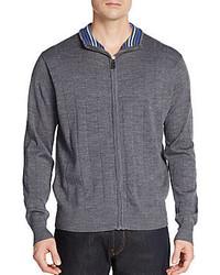 Tailorbyrd Wagner Wool Zip Sweater
