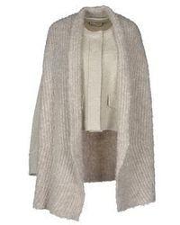 Grey Mohair Coat
