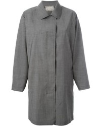 Lanvin Raw Edge Coat