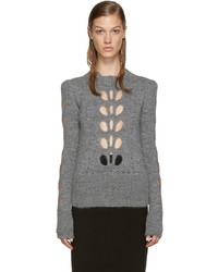 Isabel Marant Grey Cut Out Ilia Sweater