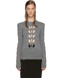 Isabel Marant Grey Cut Out Ilia Sweater