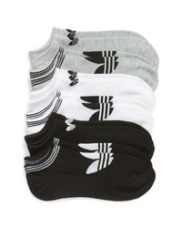 adidas 6 Pack No Show Socks