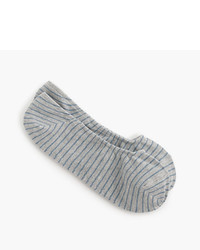 J.Crew No Show Socks In Microstripe