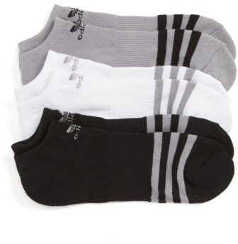 adidas Originals 3 Pack No Show Socks