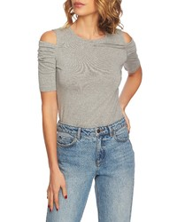 1 STATE Cold Shoulder Top