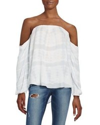 Young Fabulous & Broke March Off The Shoulder Top