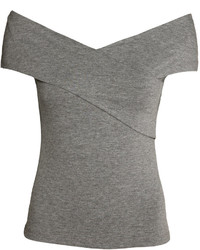 H&M Off The Shoulder Top White Ladies