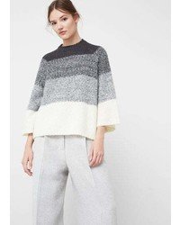Mango Oversize Wool Blend Sweater