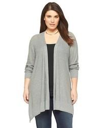 Ava Viv Plus Size Open Layering Cardigan Sweater