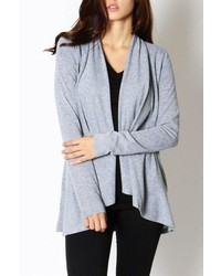 Avenue A Basic Open Cardigan