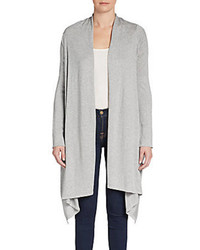 BCBGMAXAZRIA Open Draped Hem Cardigan