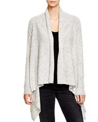 Bloomingdale's C By Cashmere Basic Open Cardigan