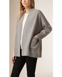 Burberry Cashmere And Cotton Blend Shawl Cardigan