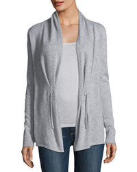 Neiman Marcus Cashmere Collection Chain Tie Cashmere Cardigan