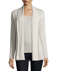Neiman Marcus Cashmere Collection Modern Open Cashmere Cardigan
