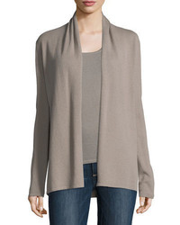 Neiman Marcus Cashmere Collection Open Cashmere Cardigan