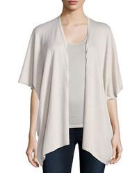 Neiman Marcus Cashmere Collection Superfine Crystal Cashmere Kimono Cardigan