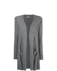 Vince Cashmere Hooded Cardigan