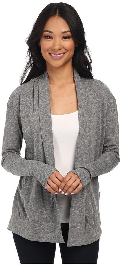 4a56bea7b Alternative Eco Jersey Rib Sleeve Wrap Sweater