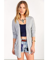 Urban Outfitters Ecote Mixed Stitch Open Front Cardigan