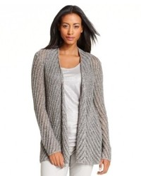 Eileen Fisher Sweater Long Sleeve Open Front Cardigan