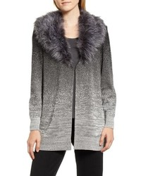Ming Wang Faux Knit Jacket