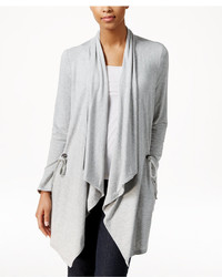 Gh Bass Co Gh Bass Co Draped Open Front Cardigan